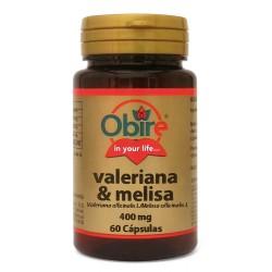 VALERIANA Y MELISA 400MG...